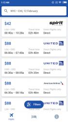 Screenshot 3 de Vuelos baratos para Spirit Airlines y Low Cost para android