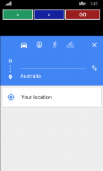 Captura de Pantalla 5 de Navigation MAPS para windows