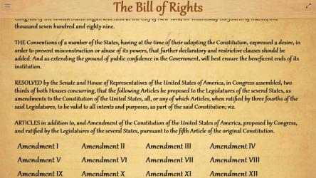 Imágen 1 de The United States Bill Of Rights para windows