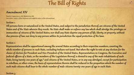 Captura de Pantalla 2 de The United States Bill Of Rights para windows