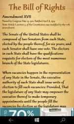 Captura 4 de The United States Bill Of Rights para windows