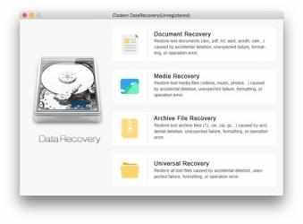 Captura 2 de Cisdem DataRecovery para mac