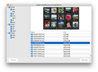 Captura 5 de Cisdem DataRecovery para mac