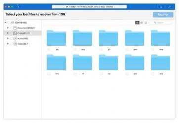 Screenshot 13 de Cisdem DataRecovery para mac
