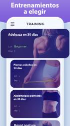 Screenshot 7 de Perder peso en 30 días - Entrenamiento en casa para android
