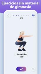 Captura de Pantalla 8 de Perder peso en 30 días - Entrenamiento en casa para android