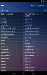 Screenshot 7 de Aprender Francés Gratuit Audio Curso y Vocabulario para android