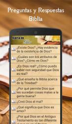 Captura de Pantalla 4 de Preguntas y Respuestas Biblia para android