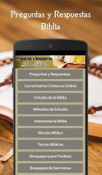 Screenshot 2 de Preguntas y Respuestas Biblia para android