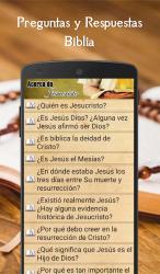 Captura 7 de Preguntas y Respuestas Biblia para android