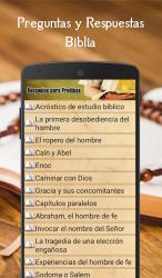 Imágen 9 de Preguntas y Respuestas Biblia para android
