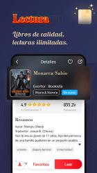 Captura de Pantalla 4 de Bookista - La mayor app de novelas web en español para android
