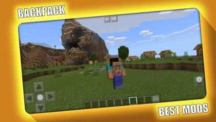 Captura 3 de BackPack Mod for Minecraft PE - MCPE para android