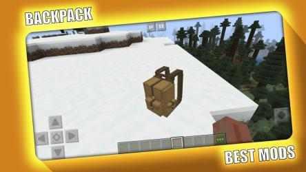 Captura de Pantalla 8 de BackPack Mod for Minecraft PE - MCPE para android