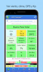 Screenshot 2 de UAV Forecast para DJI Quadcopter y UAV Pilotos para android