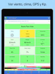 Imágen 12 de UAV Forecast para DJI Quadcopter y UAV Pilotos para android