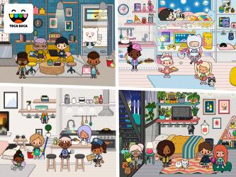 Captura de Pantalla 13 de Toca Life: Neighborhood para android