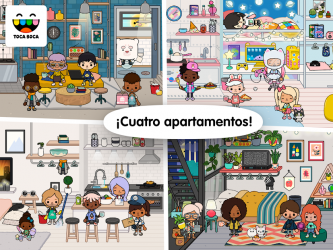 Captura de Pantalla 8 de Toca Life: Neighborhood para android