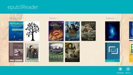 Captura de Pantalla 5 de ePub3 Reader para windows