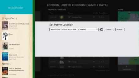 Captura 4 de ePub3 Reader para windows
