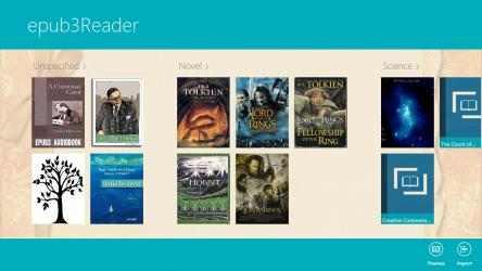 Screenshot 1 de ePub3 Reader para windows