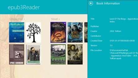 Imágen 7 de ePub3 Reader para windows