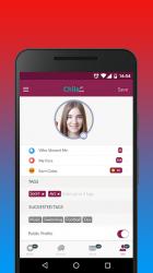 Captura de Pantalla 4 de Chile Social - Chatear, Citas y Ligar con Chilenas para android