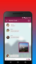 Captura de Pantalla 5 de Chile Social - Chatear, Citas y Ligar con Chilenas para android