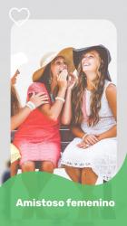 Captura de Pantalla 5 de Conoce gente y amigos nuevos a través de VideoChat para android