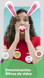 Captura de Pantalla 4 de Conoce gente y amigos nuevos a través de VideoChat para android
