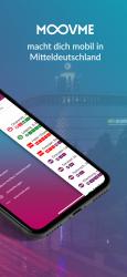 Captura de Pantalla 3 de MOOVME - Fahrplan & Tickets für Mitteldeutschland para android