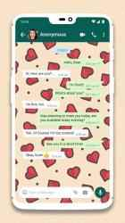 Captura de Pantalla 4 de Wallpapers for WhatsApp Chat para android