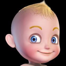 Captura de Pantalla 1 de Mi habitación de bebé (bebé virtual) para android