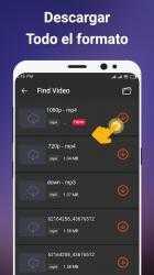Captura de Pantalla 6 de Descargador de videos gratis para android