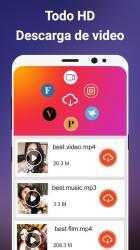 Captura de Pantalla 2 de Descargador de videos gratis para android