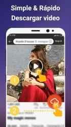 Captura de Pantalla 3 de Descargador de videos gratis para android