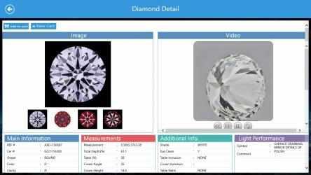 Captura de Pantalla 4 de Sunrise Diamonds for Windows Store para windows