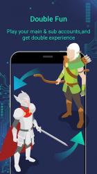Captura 3 de Whats Clone App - varias cuentas para WhatsApp para android