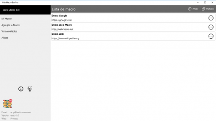 Screenshot 1 de Web Macro Bot Pro para windows