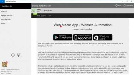 Screenshot 3 de Web Macro Bot Pro para windows
