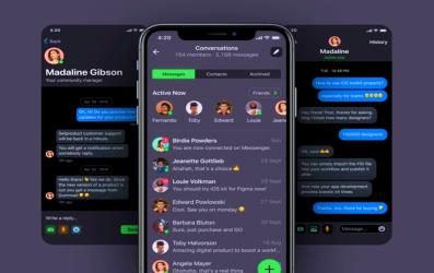 Screenshot 2 de Messenger Plus 2021 para android