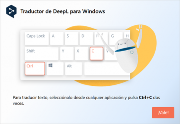 Screenshot 1 de Deepl para windows