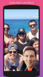 Captura de Pantalla 7 de Selfie Con Messi para android
