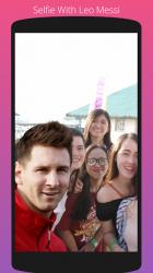 Screenshot 3 de Selfie Con Messi para android