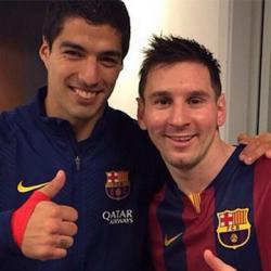 Captura de Pantalla 1 de Selfie Con Messi para android