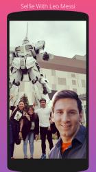 Screenshot 5 de Selfie Con Messi para android