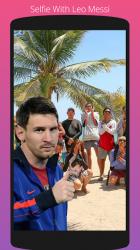 Captura de Pantalla 2 de Selfie Con Messi para android