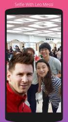 Screenshot 6 de Selfie Con Messi para android