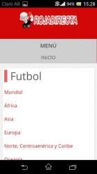 Screenshot 3 de Roja Directa Futbol para android