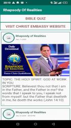 Imágen 4 de Rhapsody Of Realities App para android